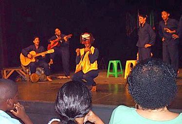Música tradicional cubana en escena por el Guiñol de Guantánamo