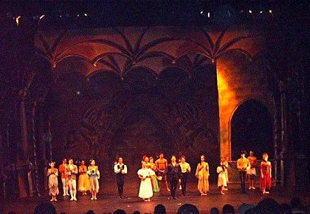 """Ballet """"Drácula"""", en el teatro Mella"""